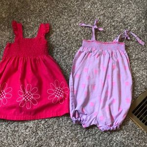 Other - Infant dress and romper